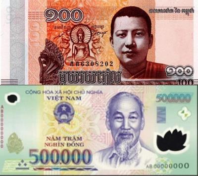 100 tiền Campuchia đổi được bao nhiêu khi sang tiền Việt?