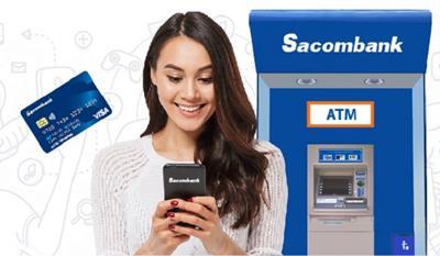Tìm hiểu dịch vụ và phí rút tiền mặt thẻ tín dụng sacombank