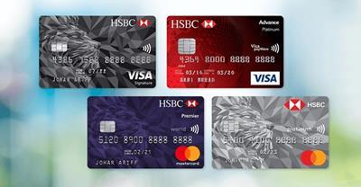 Cập nhật về lãi suất, hạn mức thẻ tín dụng HSBC mới nhất