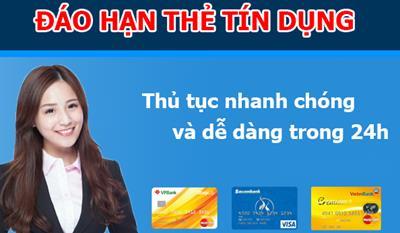 Đáo hạn thẻ tín dụng tại Thành Phố Đà Nẵng